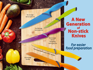 a new generation of non-stick knives liber novus newspapers promotions provider